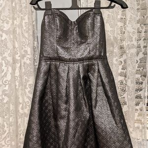 Guess silver metallic cocktail dress. Worn once